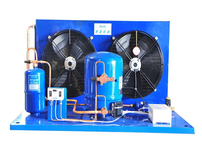 MT64 MTZ64 MANEUROP Compressors outdoor Air Cooled Condensing Unit 5HP R404A Energy Saving High Efficiency