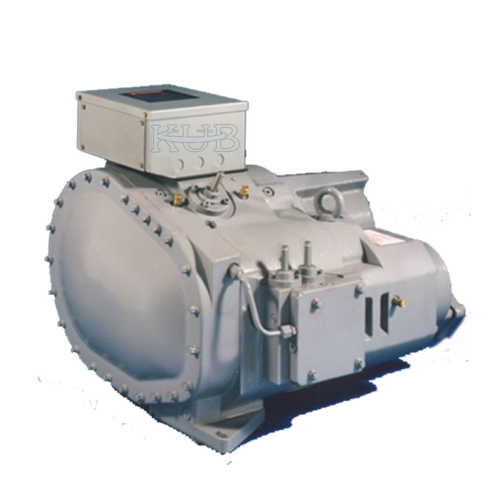 Water Cooled Chiller Ice Plant Compressor Economized Loiw Noise Corrosion Resistance